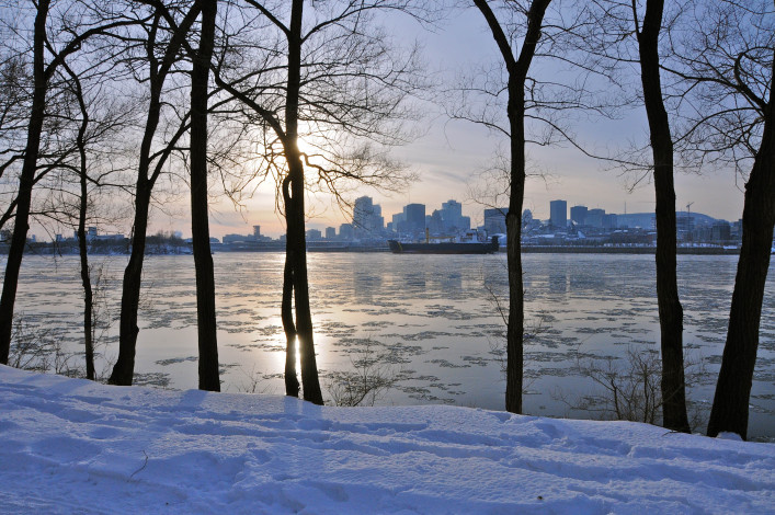 Winter in Kanada