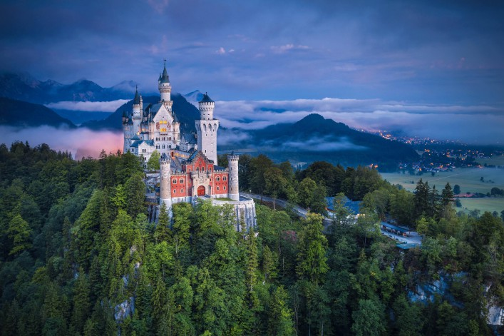 Schloss Neuschwanstein, Bayern, Deutschland