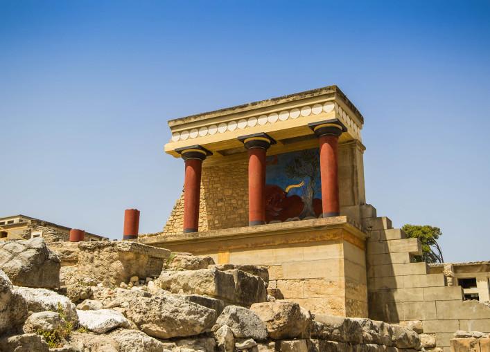 Kreta Tipps Palast von Knossos