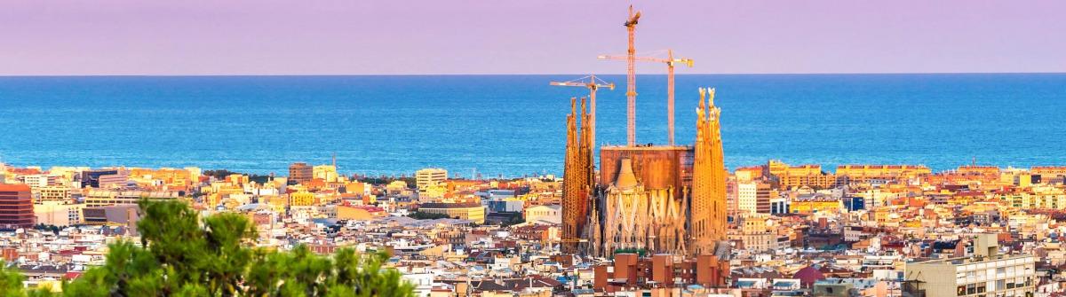 Barcelona Sagrada Familia Spanien