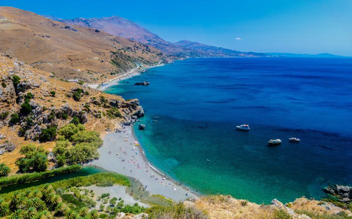 Kreta Tipps Preveli Beach