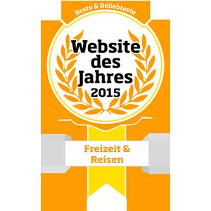Website des Jahres 2015