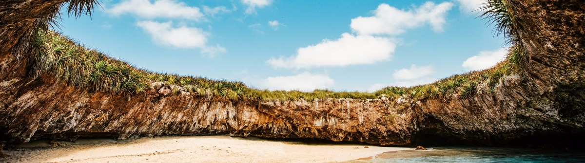 Hidden Beach Mexiko