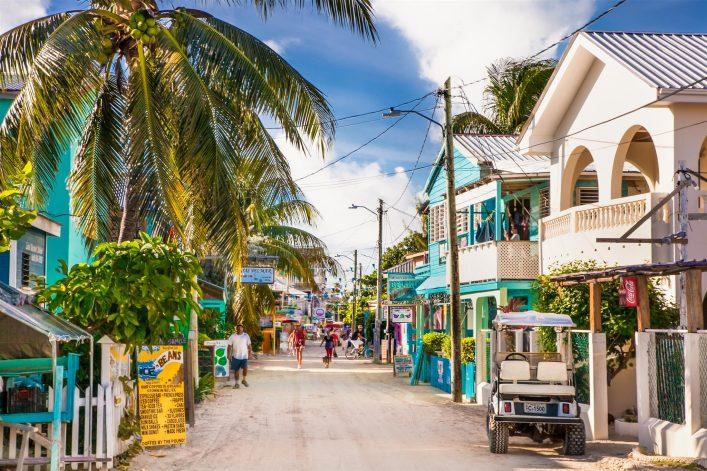 Belize, Stadt, Urlaub