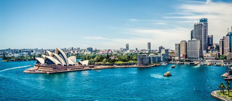 Sydney Sehenswürdigkeiten Skyline Opera House