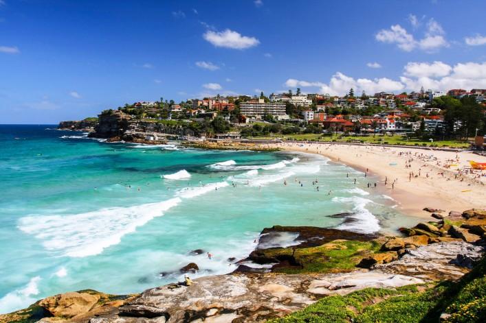Sydney Sehenswürdigkeiten Bondi Beach