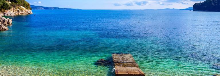 Korfu Tipps Strände Bucht von Kalami
