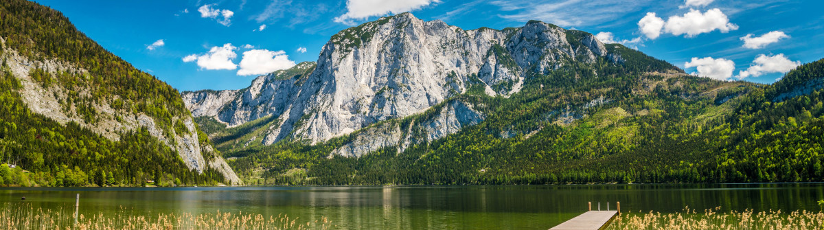 Lake Altaussee with Mountain Trisselwand, Austrian Alps