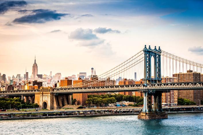New York Citi Bike Manhattan Bridge