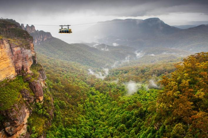 Sydney Sehenswürdigkeiten Blue Mountains