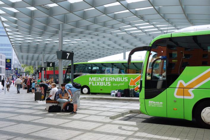 Eigene Anreise Fernbus