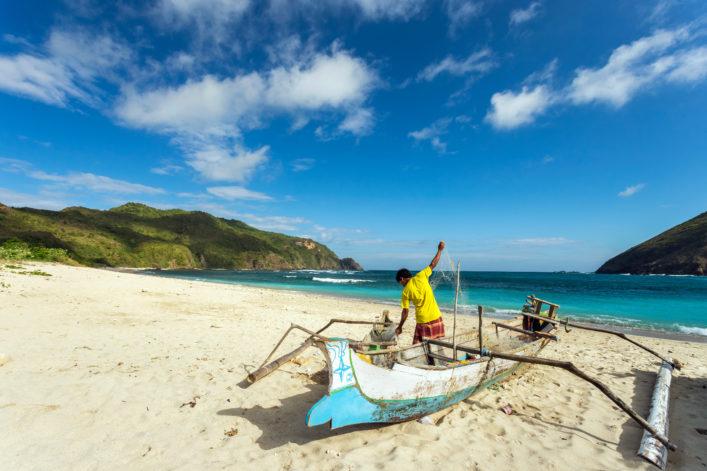 Lombok Kuta Beach