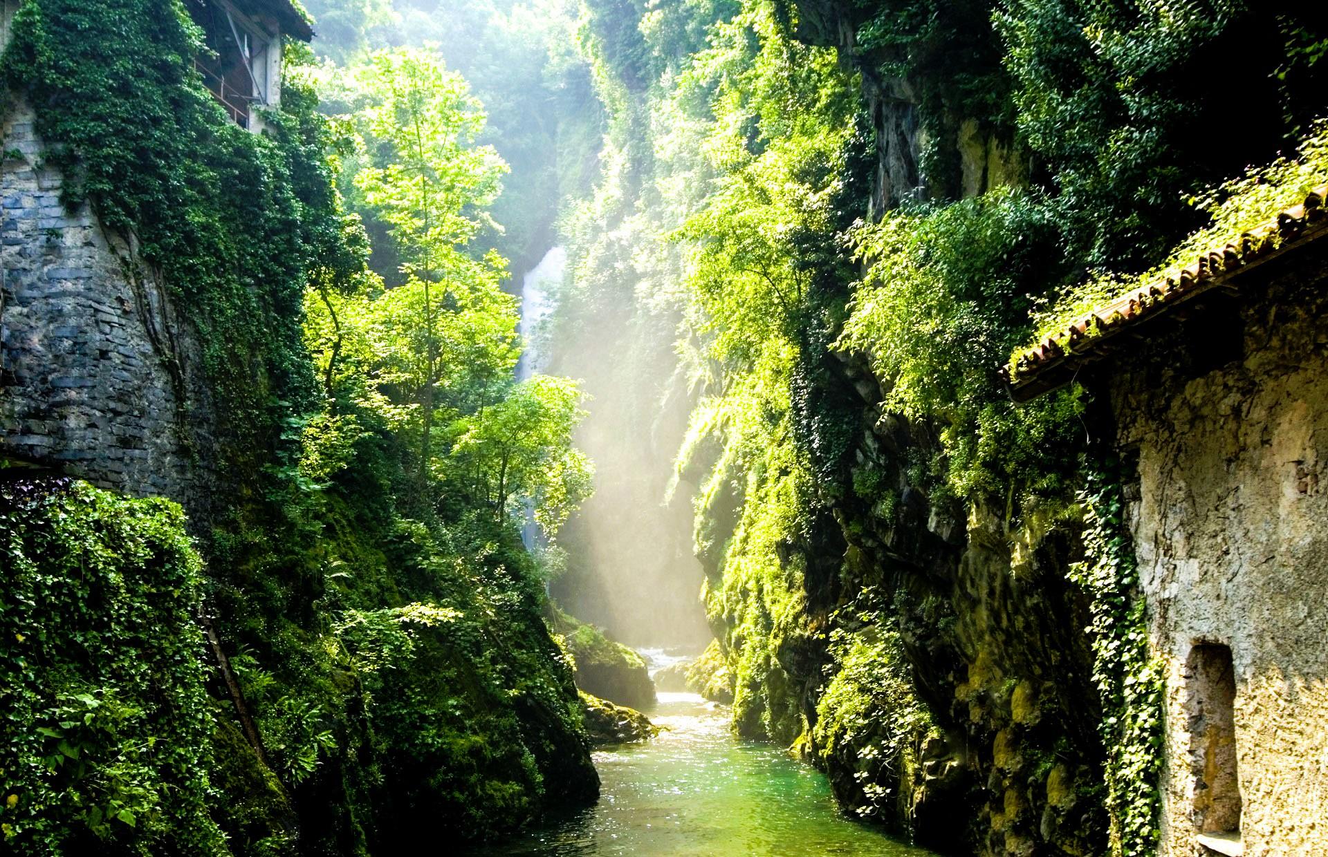 Nesso Wasserfall