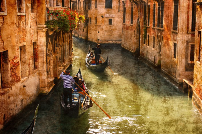 Venedig Tipps Kanal Gondel