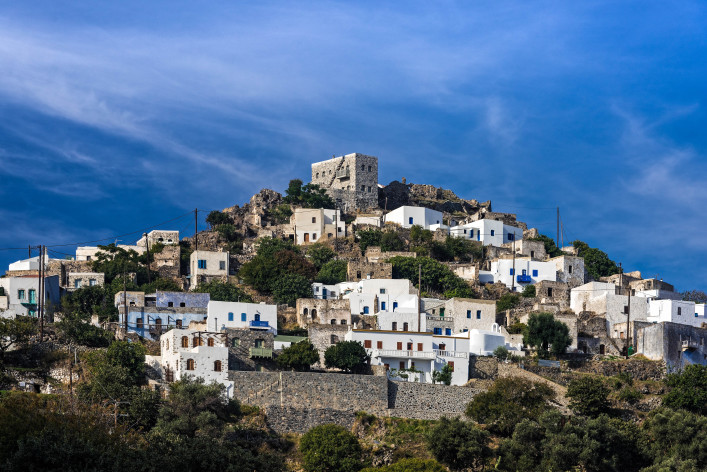 View of the traditional village of Emporios in Nisyros island, Greece shutterstock_478545283-2