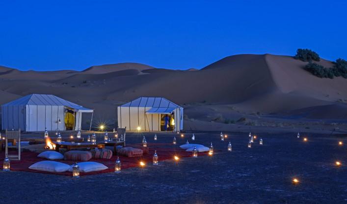 Oman Wüstencamp Glamping