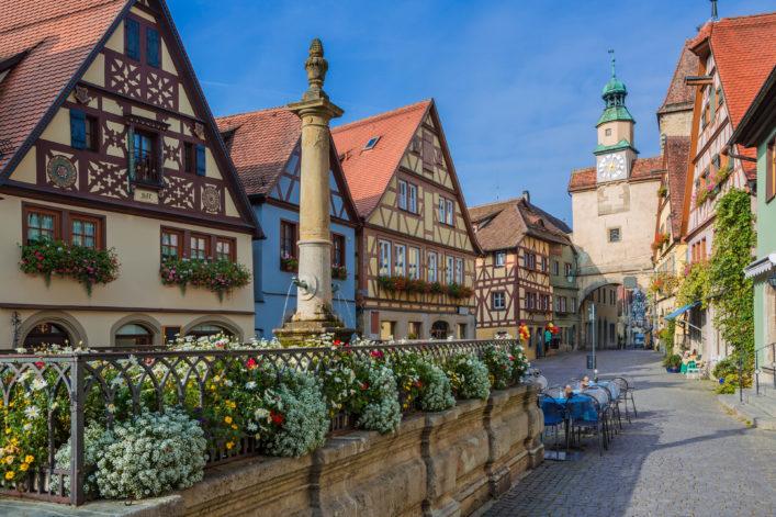 Romantische Straße Rothenburg