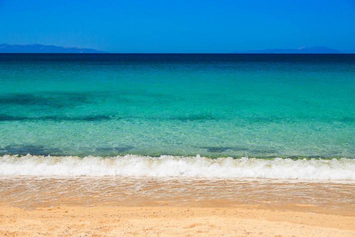 Naxos Griechenland Strand