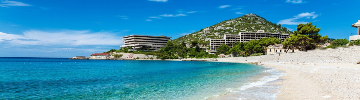 Mlini Kroatien Strand Meer
