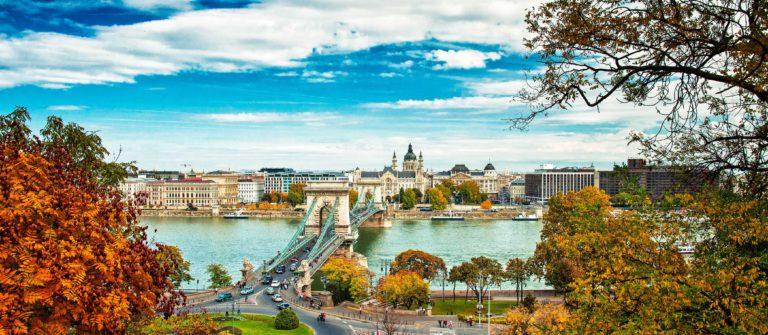 Städtereise im Herbst Budapest