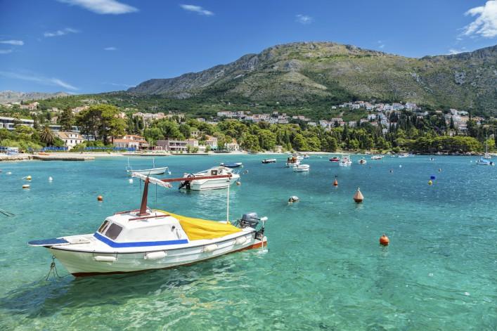 Mlini Kroatien Meer