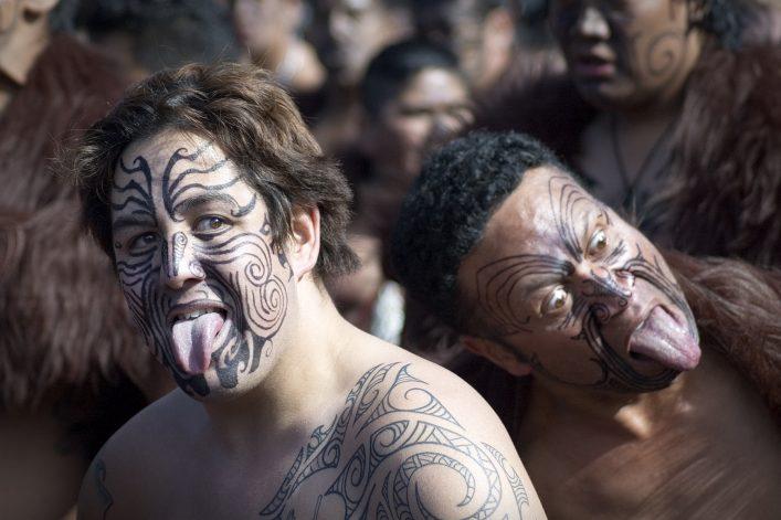 Haka Tanz, Neuseeland