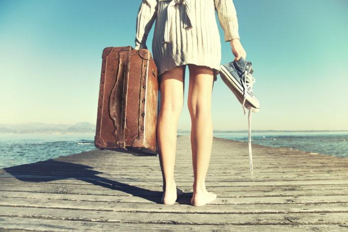 alleine reisen