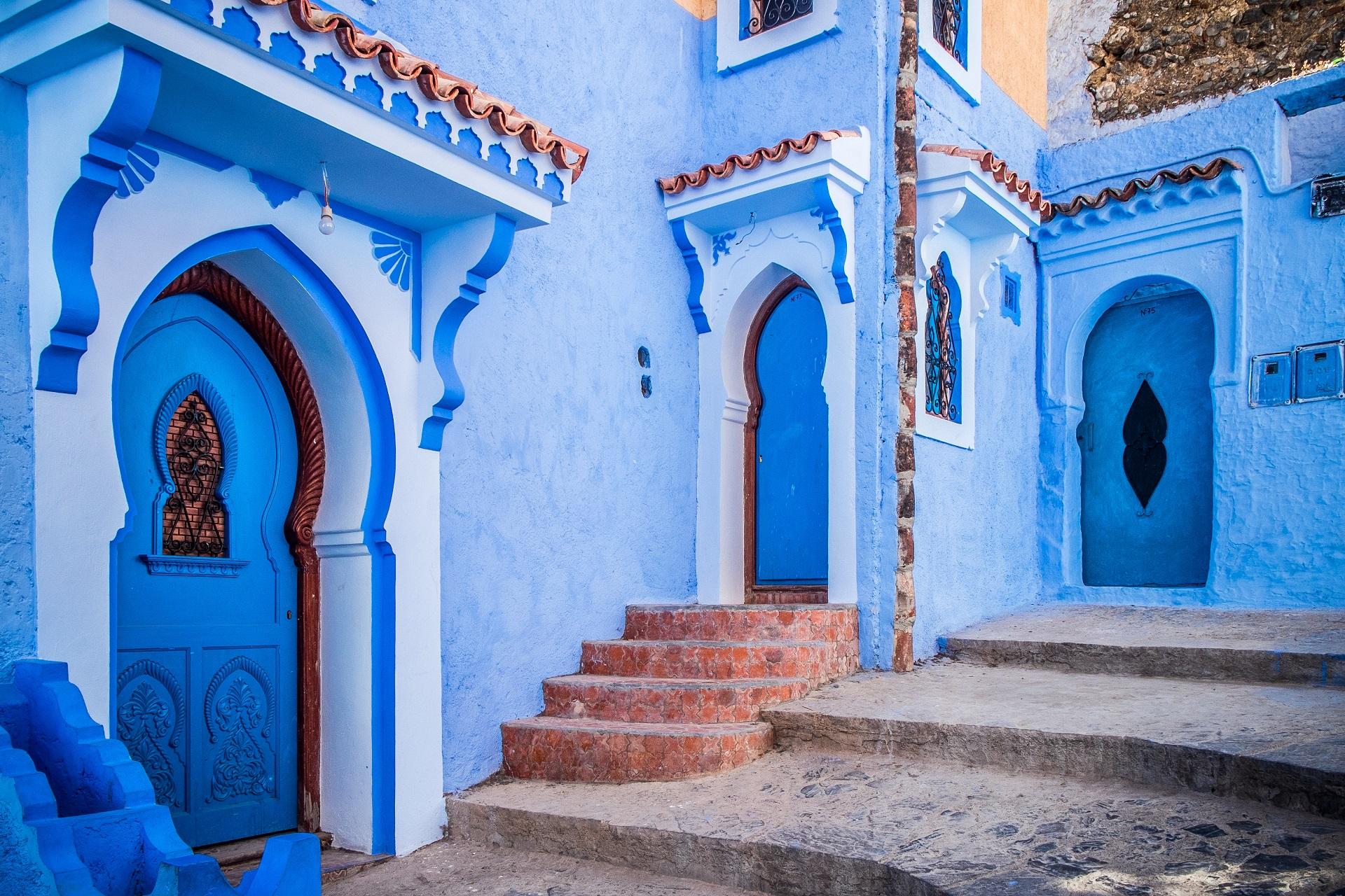 Blaue Häuser chefchaouen die blaue stadt in marokko urlaubsguru