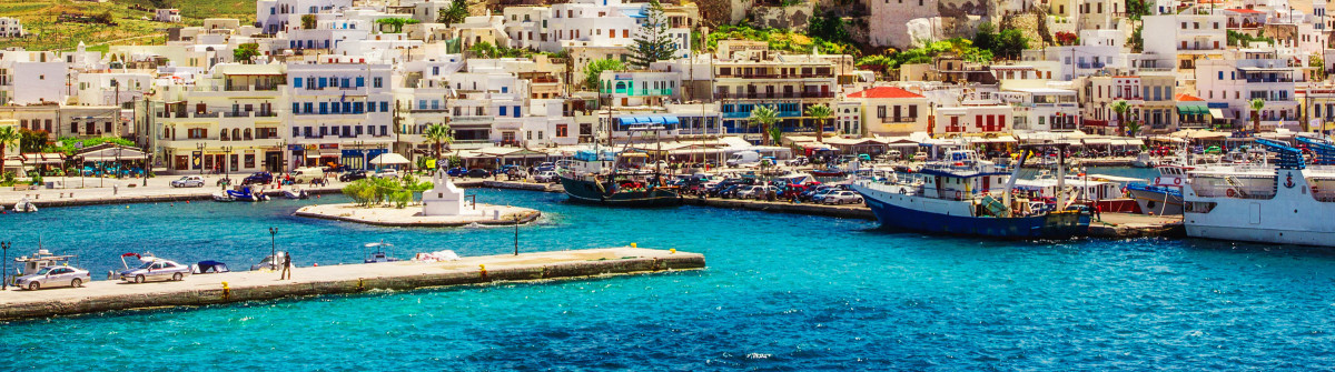 Port on the island of Naxos, Greece shutterstock_188996729-2