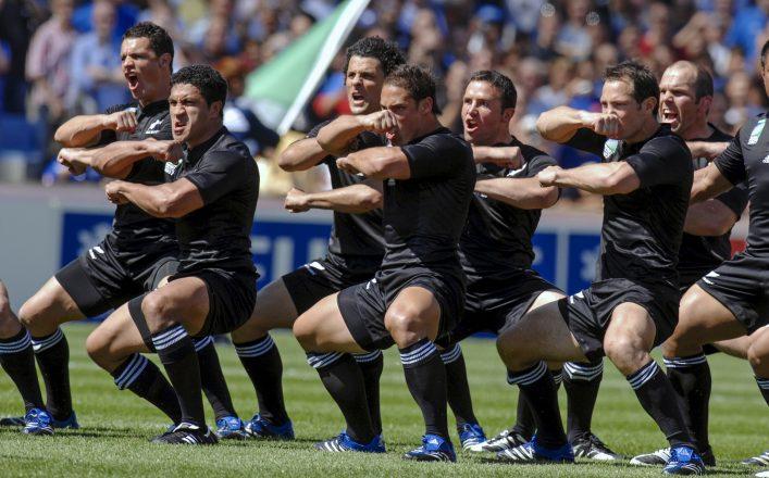 Haka Tanz, Rugby, Neuseeland