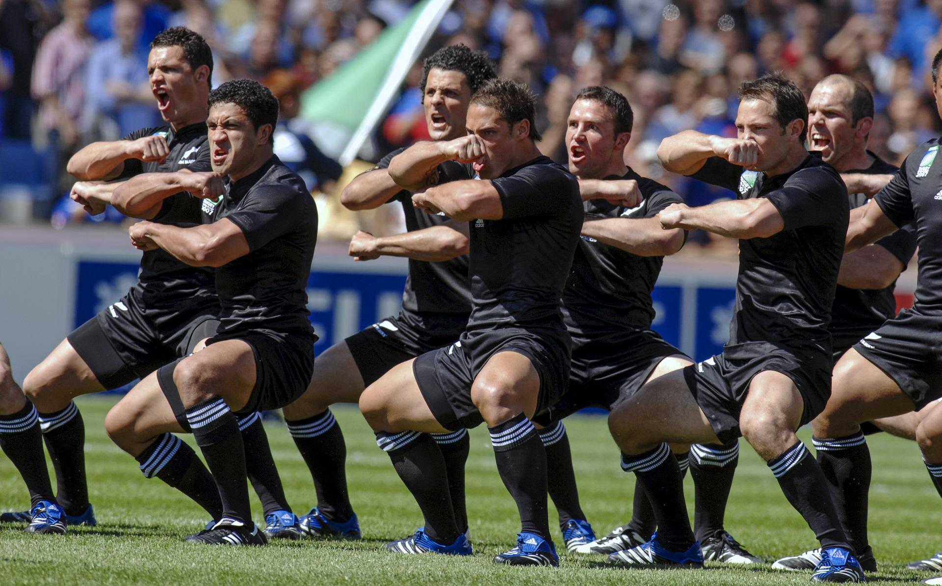 Neuseeland Rugby Tanz