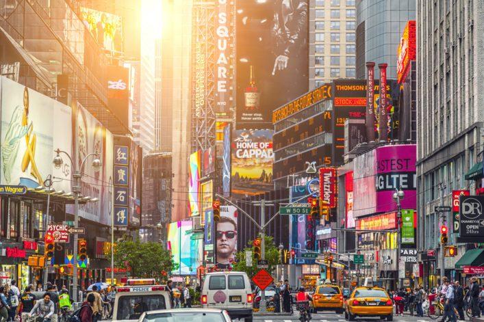 New York Promi-Hotspot