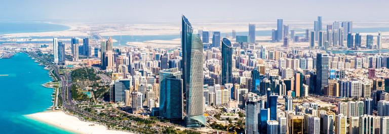 Abu Dhabi Aerial View iStock_000079107579_Large-2