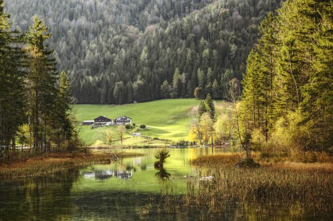Wellness im bayerischen Wald