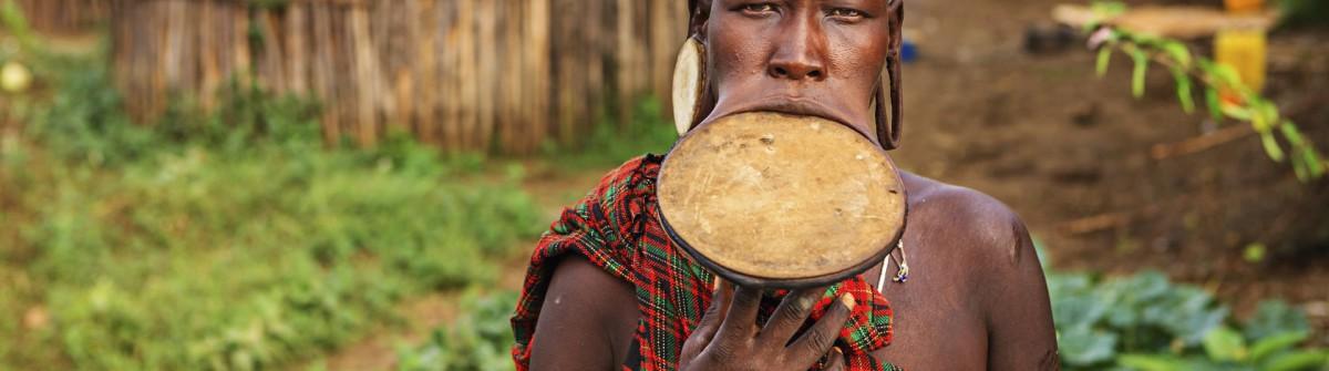Mursi Tribe Ethiopia Africa iStock_000071597415_Large