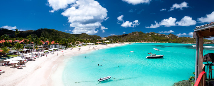 St. Barth Island, French West Indies, Caribbean sea