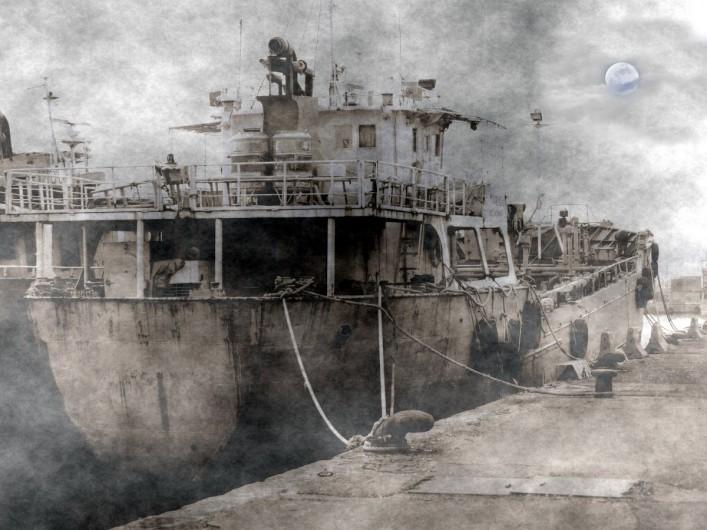 Spooky Ship shutterstock_94241839