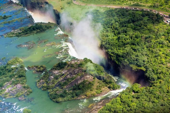 Spektakuläre Wasserfälle
