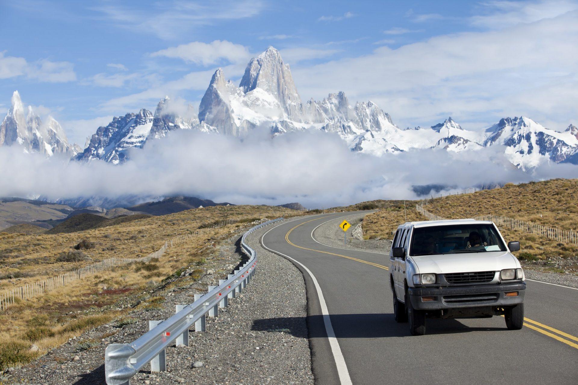 Macht eine Backpacking-Reise durch Patagonien