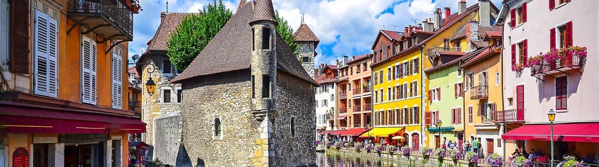 Annecy in Frankreich, Venedig der Alpen