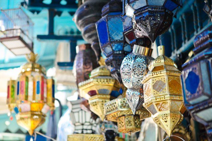 Ein typischer Markt in Tunesien