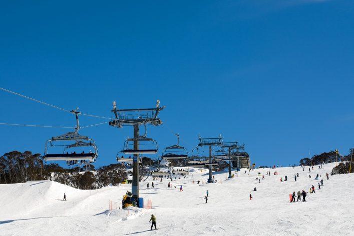 Außergewöhnliche Skigebiete, Skifahren in Australien