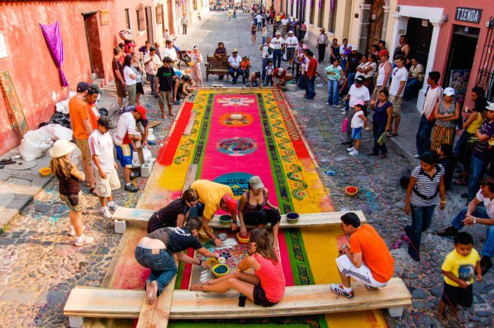 Osterbräuche Guatemala