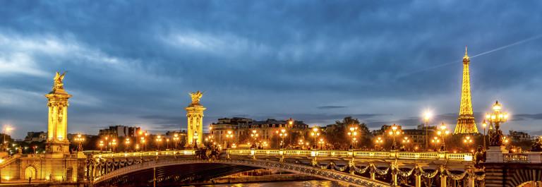 Paris La Seine River Night iStock_000055885906_Large