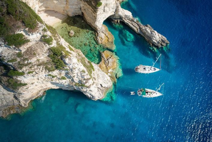 Paxos Island near Corfu, Greece_shutterstock_491965810