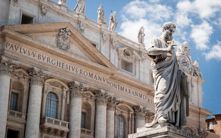 Europäische Zwergstaaten Vatikanstadt