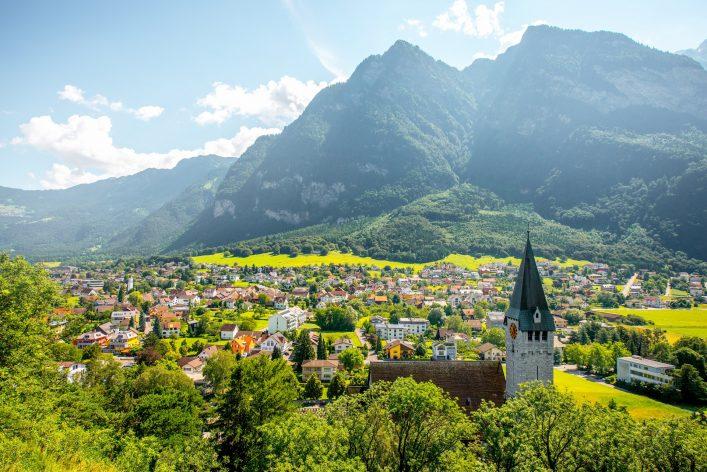 Europäische Zwergstaaten, Liechtenstein