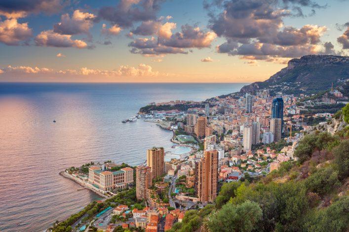 Europäische Zwergstaaten Monaco