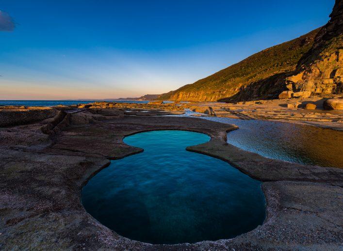 Unglaubliche Orte Figure 8 Pools Australien