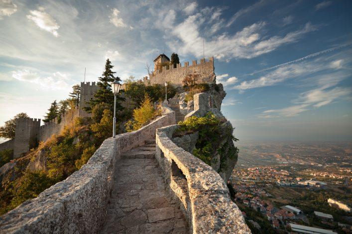 Europäische Zwergstaaten San Marino